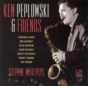 Peplowski-Steppin' With Peps-front