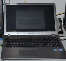 My Samsung Laptop