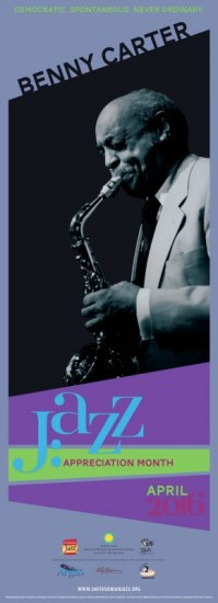 2016 Jazz Appreciation Month Poster